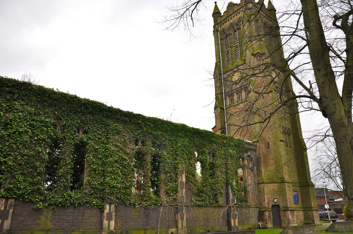 Built by the Railway, Christ's Church in Crewe, Cheshire