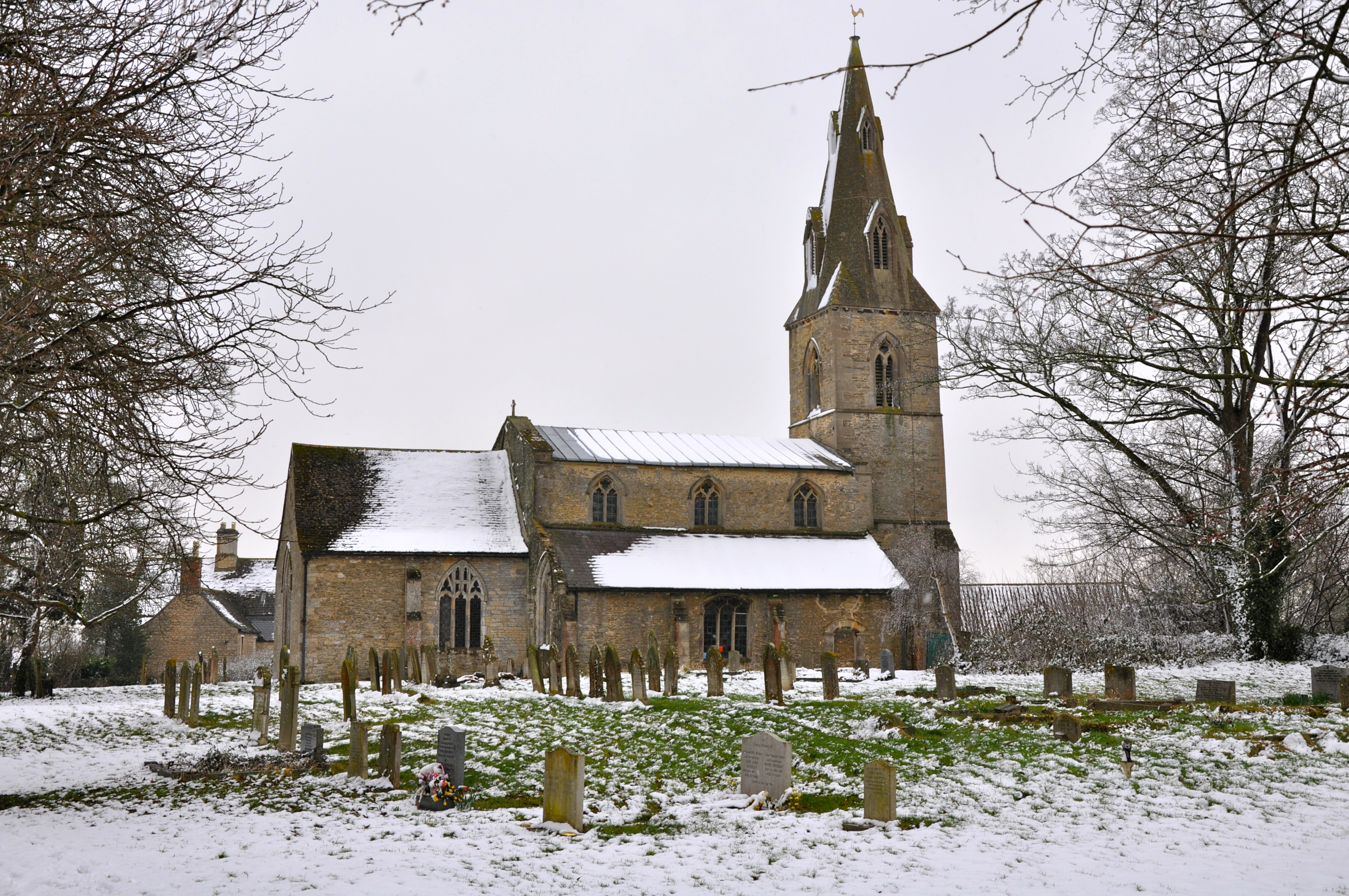 St Stephen S Church Picturesque In The Snow Echoes Of