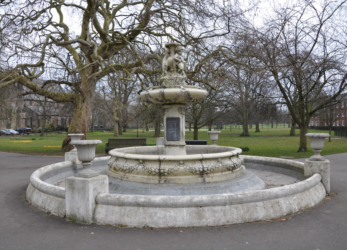 Fountain in the Park, Kings Lynn, Norfolk - Echoes of the Past
