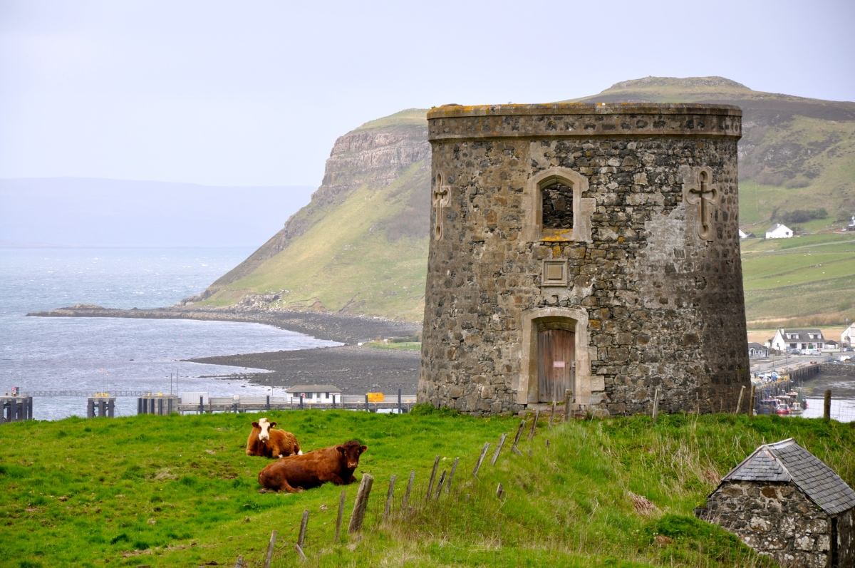 Skye's Tower of Uig, Scotland