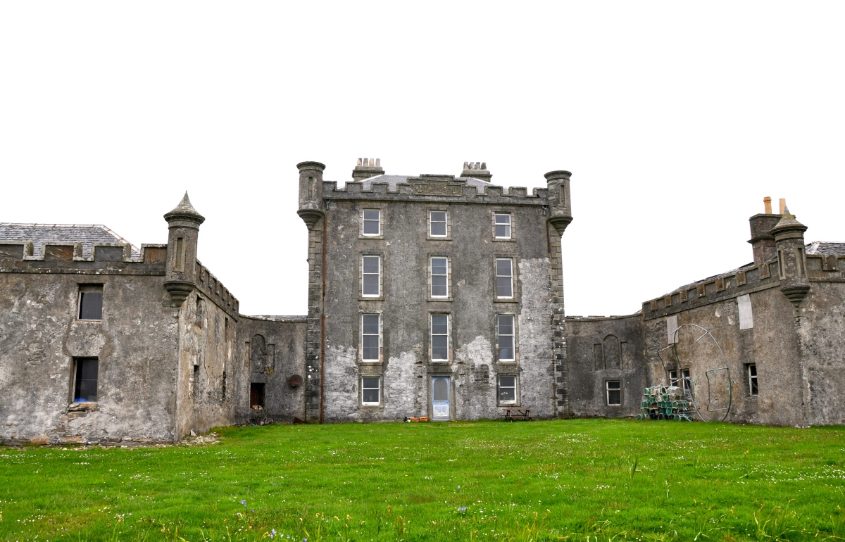 The New Breachacha Castle on the Isle of Coll, Scotland