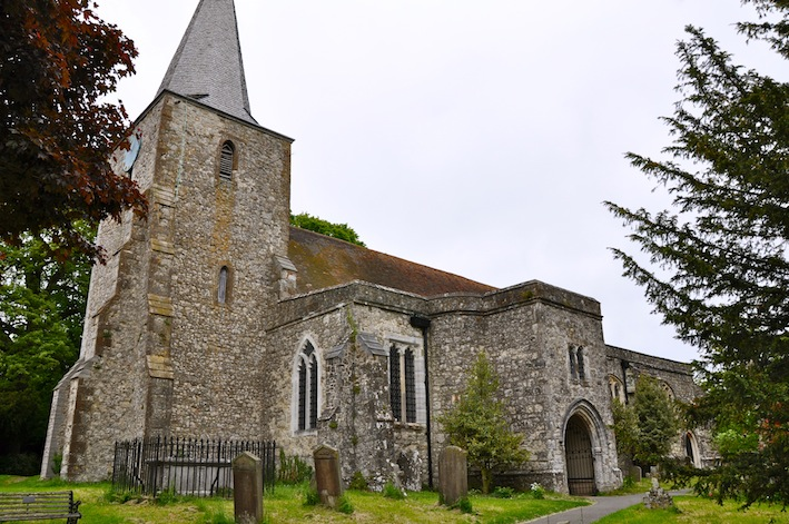 Most Haunted Church Pluckley Kent Echoes Of The Past