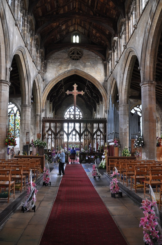 Postcards From Gedney Church Flower Festival In