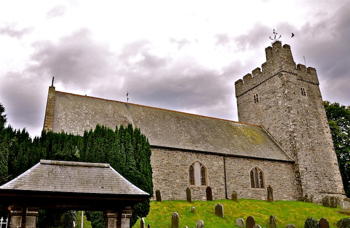 St Caron S Church Tregaron Wales Echoes Of The Past