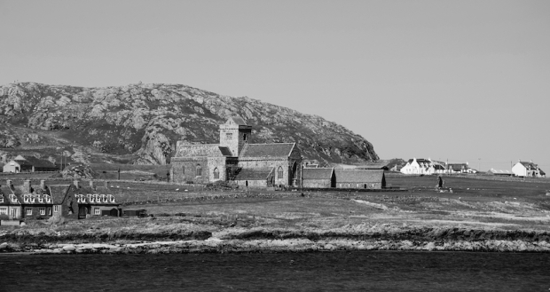 Building Houses On Isle Of Iona
