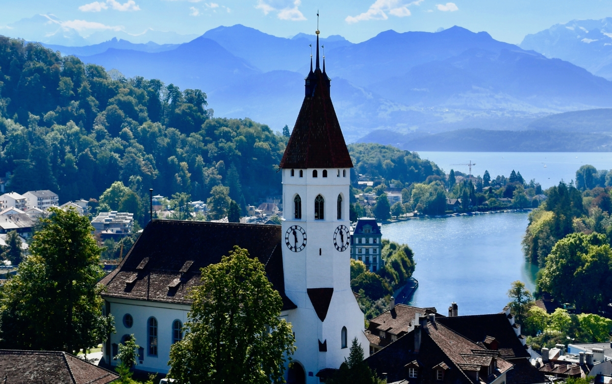 Stadtkirche Thun / City Church Thun, Switzerland (Road Trip 14)