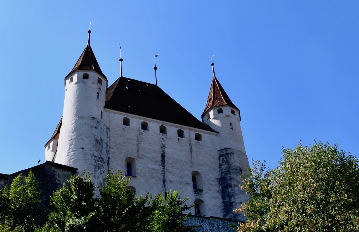 Thun Castle (Exterior) Thun, Switzerland (Road Trip 15)