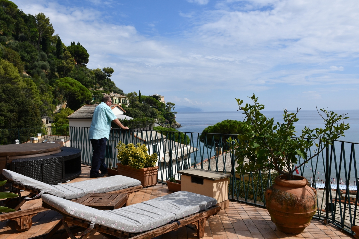 Hotel Argentina & A Stroll Around The Bay of Paraggi,  Santa Margherita Ligure, Italy (Road Trip 45)