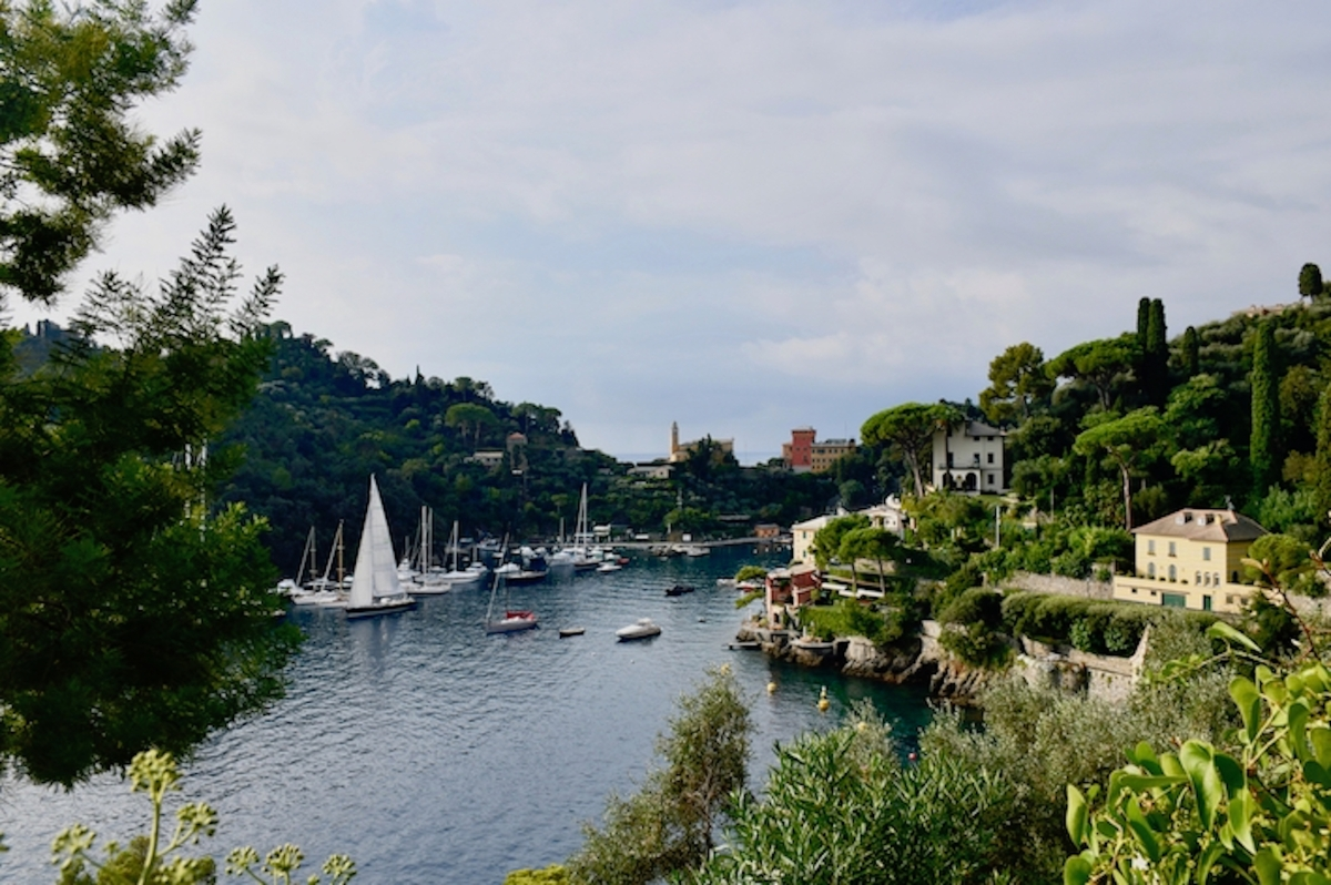 Old Coast Guard Trail From 'The Bay of Paraggi' To Portofino, Italy (Road Trip 46)